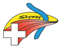 Logo Skyway croix suisse